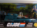 G.I. Joe Sting Raider with Copperhead 25th Anniversary