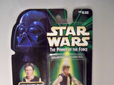 Star Wars Han Solo with Blaster Pistol & Holster Power of the Force (POTF2) (1995)