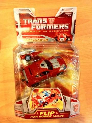 Transformers Cliffjumper Classics Series