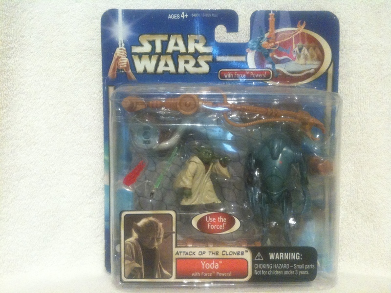 Star Wars Yoda (with Force Powers) Saga (2002)