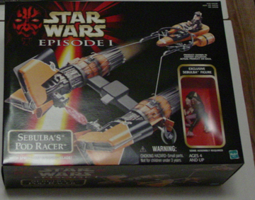 Star Wars Sebulba's Pod Racer Featuring Sebulba Episode I - The Phantom Menace