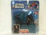 Star Wars Darth Tyranus (with Force-Flipping Attack) Saga (2002)