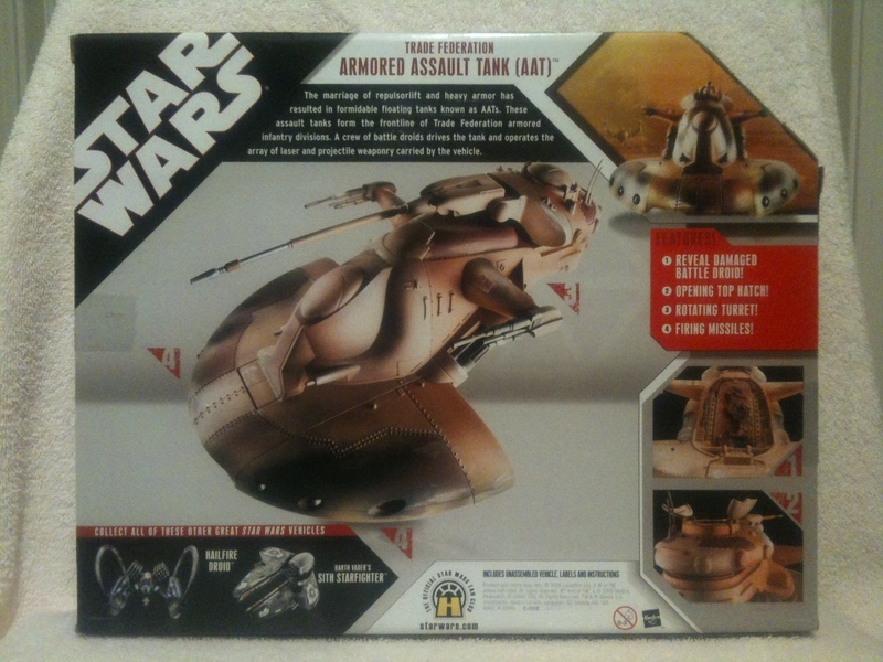 Star Wars Trade Federation Armored Assault Tank (AAT) 30th Anniversary Collection