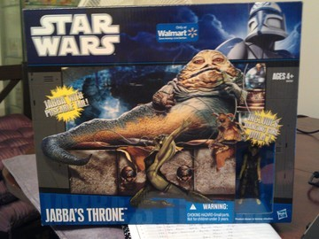 Star Wars Jabba's Throne - Includes Dancing Girl Oola Legacy Collection