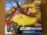 G.I. Joe Conquest X-30 with Python Patrol Viper 25th Anniversary image 1