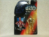 Star Wars C-3PO with Realistic Metalized Body Power of the Force (POTF2) (1995)