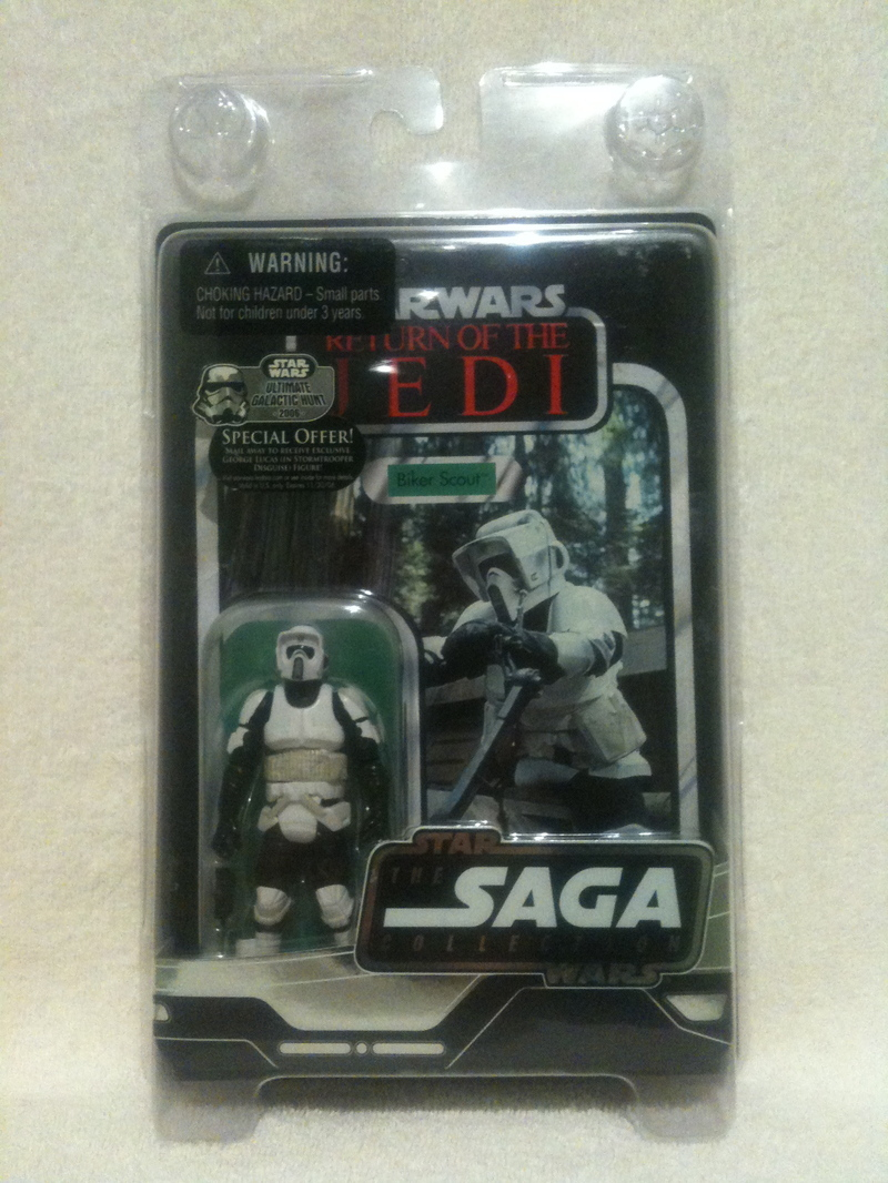 Star Wars Biker Scout Saga Collection (2006)