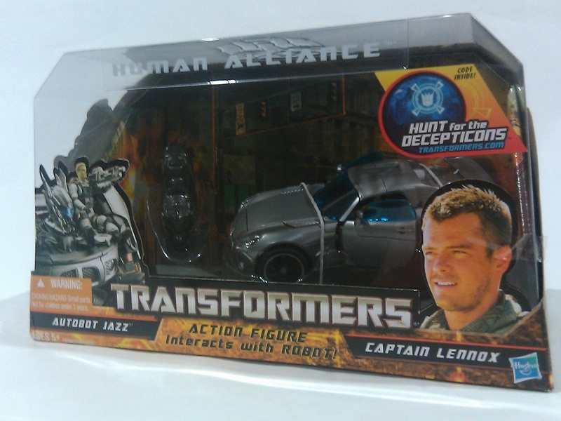 Transformers Jazz &amp; Captain Lennox Transformers Movie Universe