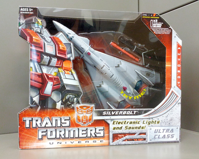 Transformers Silverbolt Classics Series