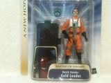 Star Wars Dutch Vander Gold Leader (Battle of Yavin) Saga (2002)