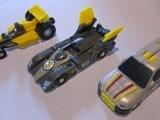 Transformers Indy, Drift & Spin (Road Assault Edition) Micron Universe