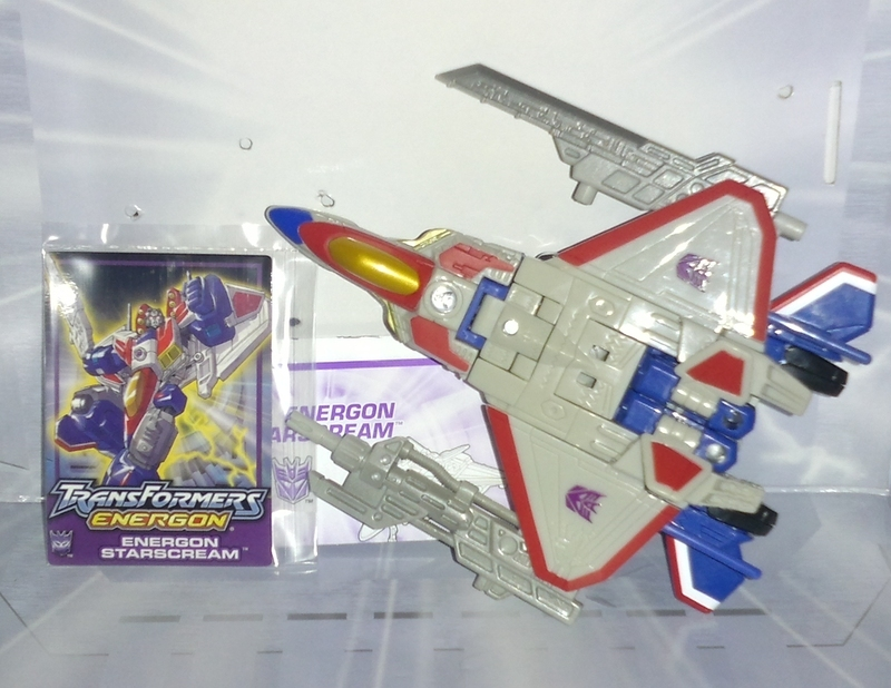 Transformers Energon Starscream Unicron Trilogy