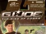 "G.I. Joe General Claton ""Hawk"" Abernathy Rise of Cobra"
