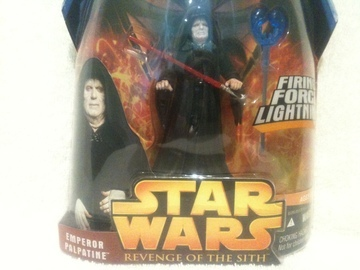 Star Wars Emperor Palpatine - Firing Force Lightning Episode III - Revenge of the Sith