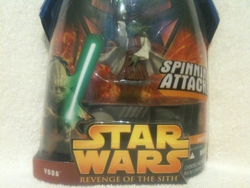 Star Wars Yoda - Spinning Attack Episode III - Revenge of the Sith