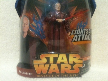 Star Wars Palpatine - Lightsaber Attack Episode III - Revenge of the Sith