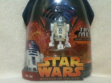 Star Wars R2-D2 - Try Me - Electronic Lights Sounds Episode III - Revenge of the Sith