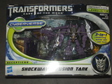 Transformers Shockwave Fusion Tank Transformers Movie Universe