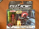 G.I. Joe Cobra Flight Pod with Elite-Viper Rise of Cobra