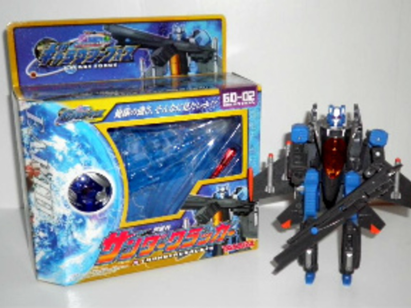 Transformers GD-02: Thundercracker Micron Universe