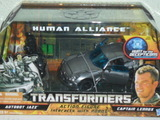 Transformers Jazz & Captain Lennox Transformers Movie Universe thumbnail 37
