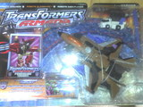 Transformers Powerlinx Thrust w/ Powerlinx Inferno Micron Universe