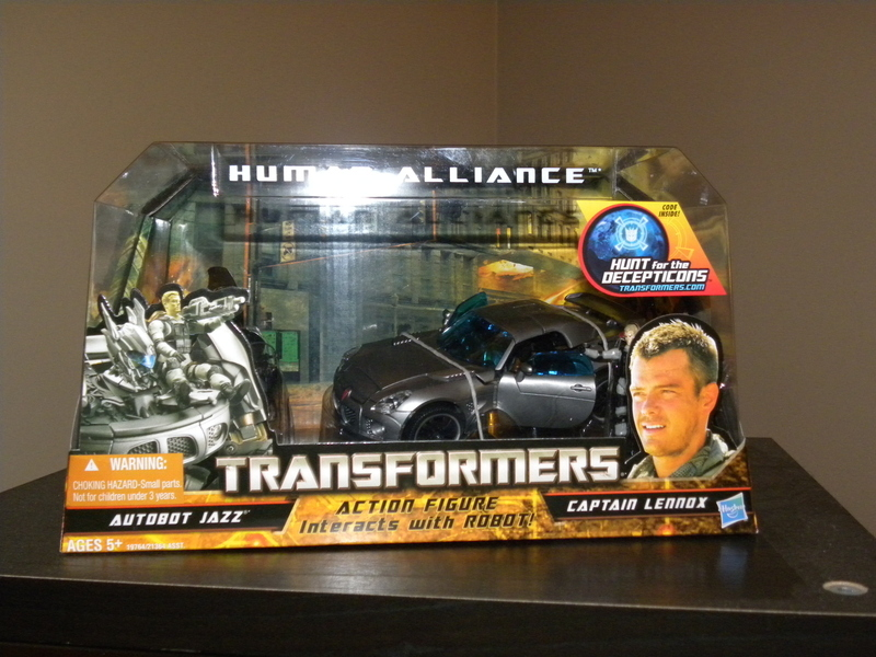 Transformers Jazz & Captain Lennox Transformers Movie Universe