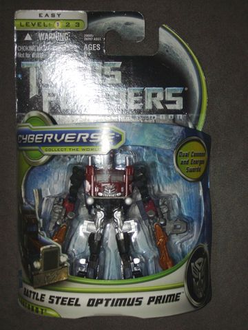 Transformers Battle Steel Optimus Prime Transformers Movie Universe