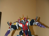 Transformers Starscream Unicron Trilogy