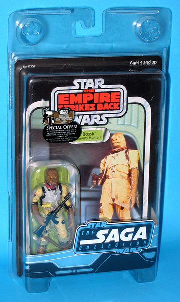 Star Wars Bossk (Bounty Hunter) Saga Collection (2006)