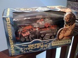 Transformers Tankor Beast Era