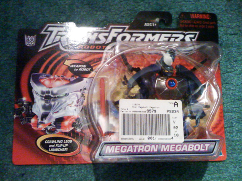 Transformers Megabolt Megatron Robots In Disguise