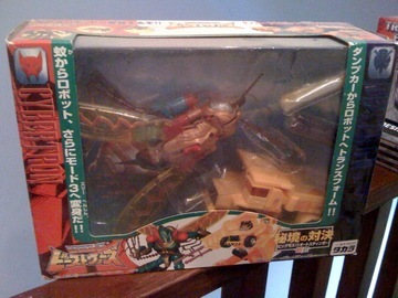 Transformers VS-17: BigMos vs. Autostinger Beast Era (Takara)