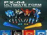transformers PX-04: Ultimate Form Perfect Effect