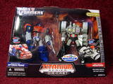 Transformers Optimus Prime &amp; Megatron Titanium