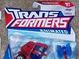 Transformers Cybertron Mode Optimus Prime Animated