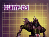transformers Quint-04: Quintesson Executioner Impossible Toys