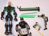G.I. Joe Hi-Tech with H.O.U.N.D. sentry Sigma Six