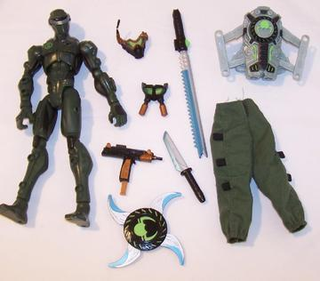 G.I. Joe Snake Eyes Sigma Six