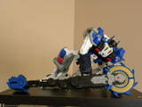 Transformers Metroplex w/ Drillbit Unicron Trilogy
