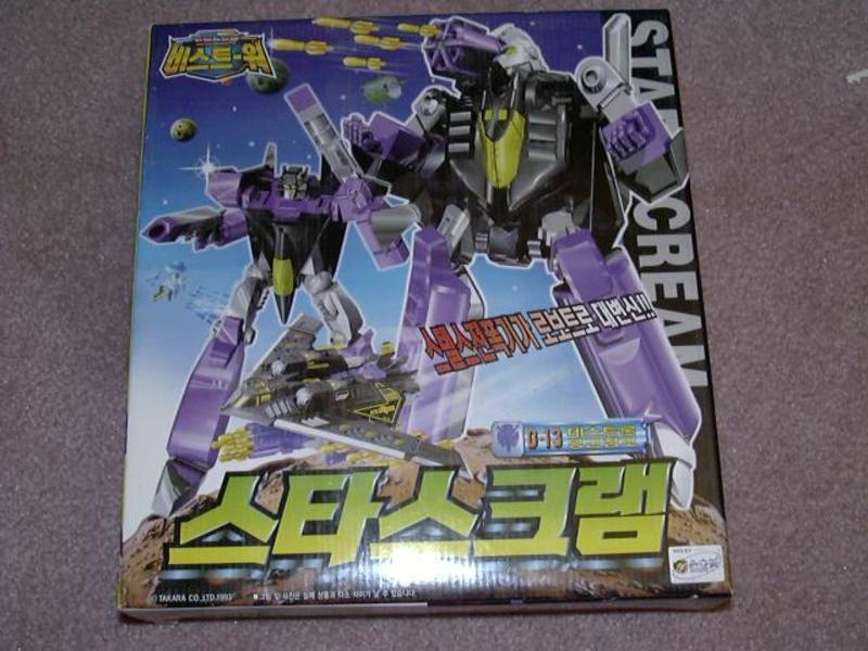 Transformers D-13: Starscream & BB Beast Era (Takara)