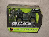 G.I. Joe Tiger Claw A.T.V. with Leatherneck Figure Rise of Cobra