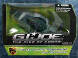 G.I. Joe Polar Sharc Submarine with Ice Storm Figure Rise of Cobra