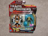 Transformers Leadfoot w/ Pinpoint Power Core Combiners
