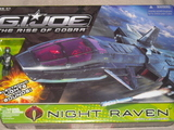 G.I. Joe Night Raven with Air-Viper figure Rise of Cobra