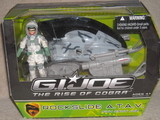 G.I. Joe Rockslide ATAV. with Snow Job Rise of Cobra