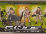 G.I. Joe Troop Builder 5 Pack, Set 1 of 2 Rise of Cobra