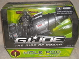 G.I. Joe Mole Pod with Terra-Viper Rise of Cobra