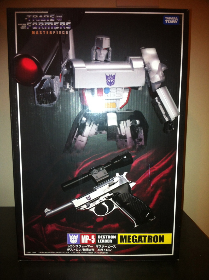 Transformers MP-05: Megatron Generation 1 (Takara)