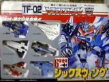 Transformers TF-02: Sixwing Generation 1 (Takara)